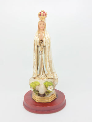 "Our Lady of Fatima Statue ( 9"" ) - Unique Catholic Gifts"