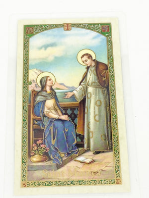 St. Monica Laminated Holy Card - Unique Catholic Gifts