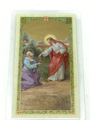St. Peter the Apostle Laminated Holy Card - Unique Catholic Gifts