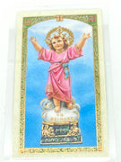 Divine Child Laminated Holy Card (Plastic Covered) - Unique Catholic Gifts