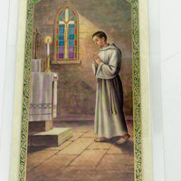 Prayers of the Alter Server Laminated Holy Card (Plastic Covered) - Unique Catholic Gifts