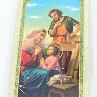Ten Rules of a Happy and Successful Wife Laminated Holy Card (Plastic Covered) - Unique Catholic Gifts
