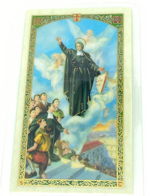 Teacher's Prayer Laminated Holy Card (Plastic Covered) - Unique Catholic Gifts