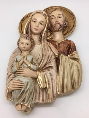 Holy Family wall Plaque (9 x 5