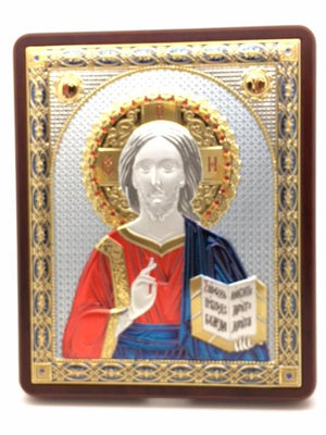 Christ Ruler of the Universe Italian Icon  (7X6