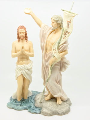The Baptism of Jesus Statue 10 5/8