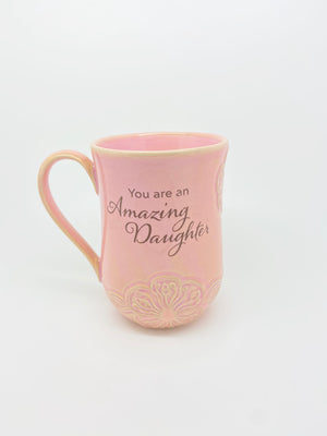 """You are an Amazing Daughter"" Coffee Cup (19 oz) - Unique Catholic Gifts"