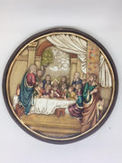 "Last Supper Circular Wall Plaque (10"") - Unique Catholic Gifts"