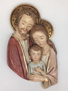 "Holy Family Plaque (9"")"