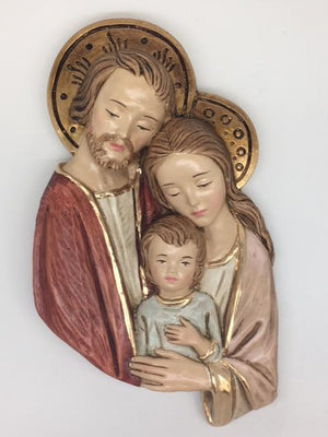 Holy Family Plaque (9