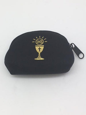 Communion Zippered Pouch (Black)