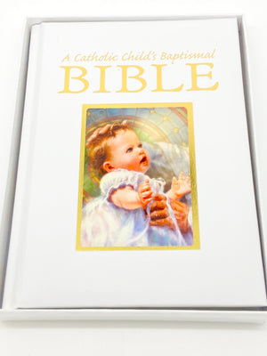 Copy of Catholic Child's Baptismal Bible Gift Book - Unique Catholic Gifts
