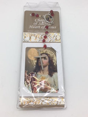Chaplet of the Sacred Heart of Jesus (Rosary and Prayer) - Unique Catholic Gifts