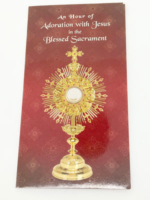 Adoration Trifold Card - Unique Catholic Gifts