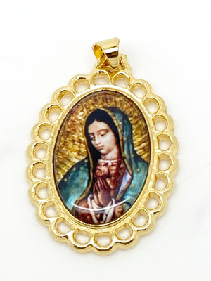 Our Lady of Guadalupe Pendant 1