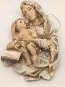 "Madonna with Child Wall Plaque B (6"")"