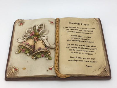 Wedding Prayer Plaque (6