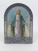 Our Lady of Grace Easel Standing Plaque