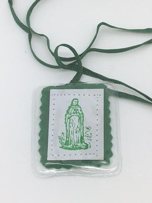 El Escapulario Verde - Unique Catholic Gifts