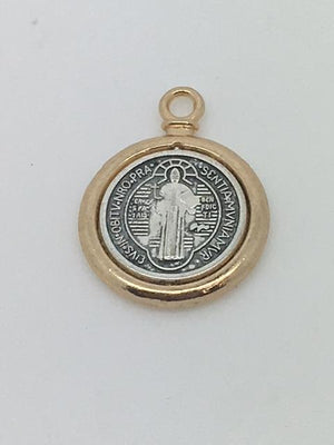 St. Benedict Medal (Gold and Silver) - Unique Catholic Gifts