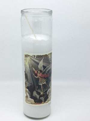 St. Michael the Archangel Offering Candle (8 1/4