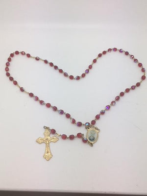 Red Holy Spirit Rosary