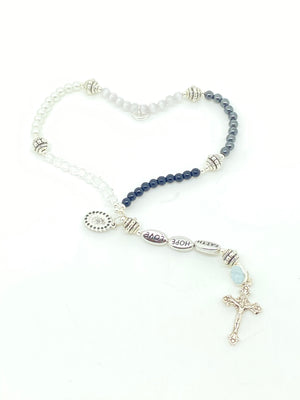 Rosary for the Holy Souls Wrist Rosary - Unique Catholic Gifts