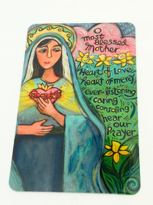 Mary, Memorare Prayer Card - Unique Catholic Gifts