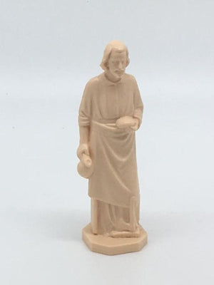 St. Joseph the Worker Statue Plastic  3 1/2
