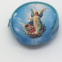 "Guardian Angel Rosary Pouch (2 1/2"") - Unique Catholic Gifts"