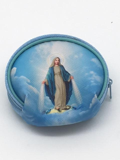 "Our Lady of Grace Rosary Pouch (2 1/2"") - Unique Catholic Gifts"