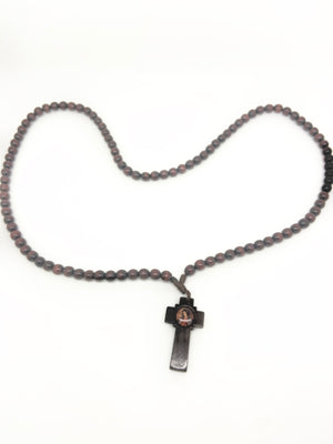 Brown Canecula Prayer Beads - Unique Catholic Gifts