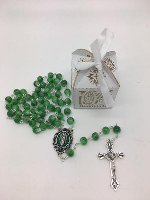 Our Lady of Guadalupe Handmade Unique Detailed Box and Rosary. - Unique Catholic Gifts