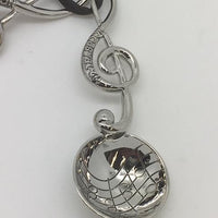 Measuring Spoons Silver with Musical Notes (Treble Clef ) - Unique Catholic Gifts