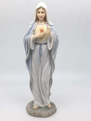 Immaculate Heart of  Mary Statue (8 1/4