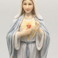 "Immaculate Heart of  Mary Statue (8 1/4"")"
