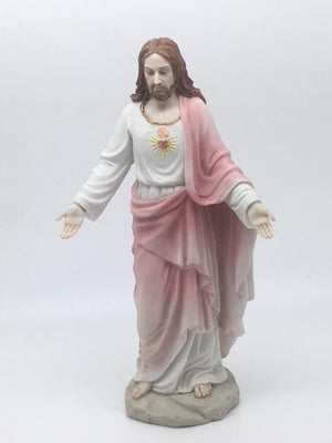 "Sacred Heart of Jesus Statue (8"") - Unique Catholic Gifts"