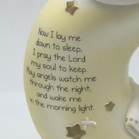 "Moon Nightlight ""Now I Lay Me Down to Sleep"" (6 1/2"") - Unique Catholic Gifts"
