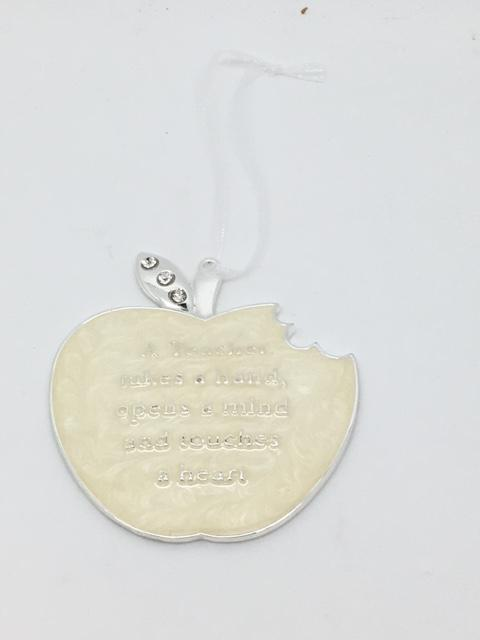 "Teacher Gift Keepsake Ornament  (3"") - Unique Catholic Gifts"