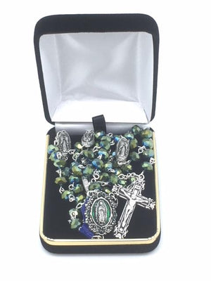 Our Lady of Guadalupe Rosary (Green) - Unique Catholic Gifts
