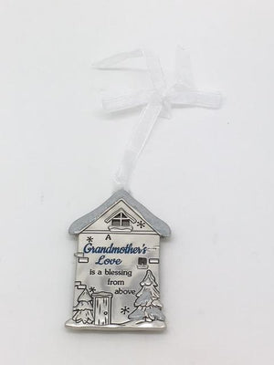 Grandmother's Love is a Blessing from Above Ornament Plaque - Unique Catholic Gifts