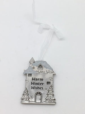 Warm Winter Wishes Ornament Plaque