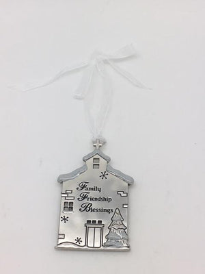 Family Friendship Blessings Ornament Plaque