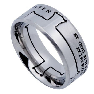 Iron Cross Silver Ring