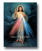 "Divine Mercy Poster 19"" X 27"" - Unique Catholic Gifts"