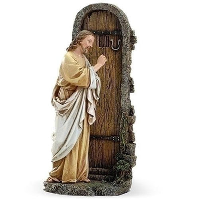 Jesus Knocking at the Door Statue (11 3/4
