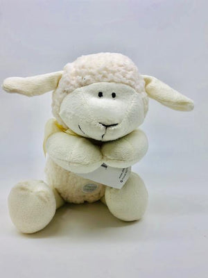 Jesus Loves Me Praying Lamb - Unique Catholic Gifts