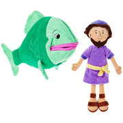 Jonah and the Big Fish Stuffed Doll Set - Unique Catholic Gifts