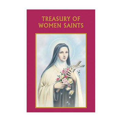 Aquinas Press® Prayer Book - Treasury Of Women Saints