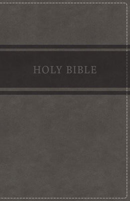 KJV Deluxe Gift Bible (Imitation Leather) Gray - Unique Catholic Gifts
